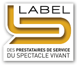 Label prestataire service du spectacle vivant Armor Bretagne Saint-Brieuc Trégueux Plédran Lamballe Agréé