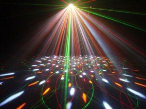 Jeux et effets de lumière DJ