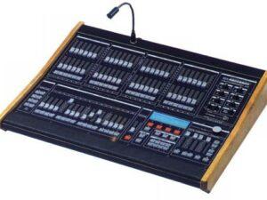 Consoles d'éclairage et jeux d'orgue
