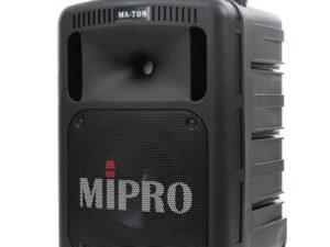 Mipro MA 708 - Enceinte autonome et portative sur batterie en location à Saint-Brieuc et dans les Côtes d'Armor
