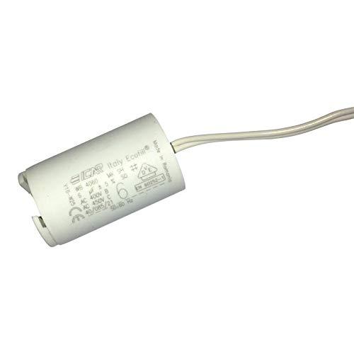 Condensateur de démarrage pour volet roulant électrique. Composant électronique au détail