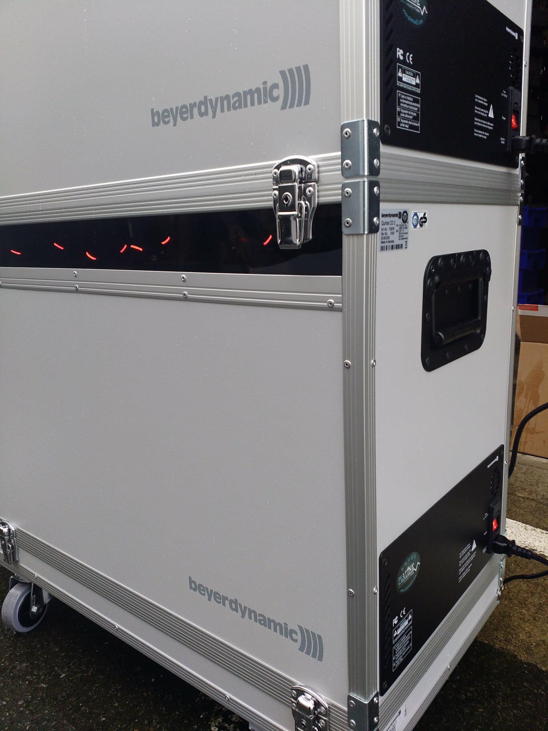 Fly-case de chargement pour système de conférence Quinta Beyerdynamic