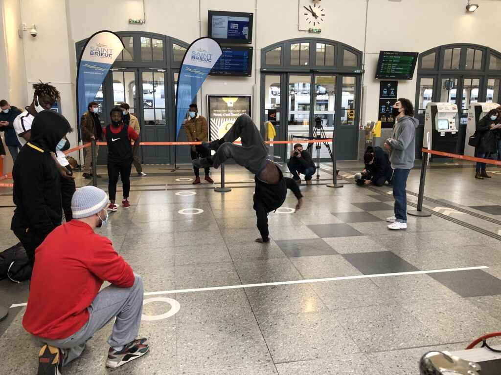 Battle de hip-hop streaming vidéo sono