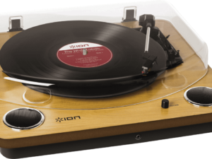 Platine vinyle Ion Max LP Wood à Saint-Brieuc