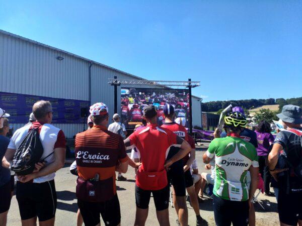 Ecran géant Tour de France en Bretagne et Côtes d'Armor à Saint-Brieuc